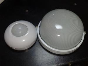 pachet complet senzor si lampa pentru casa scarii